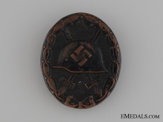 Wound Badge - Black Grade & Marked