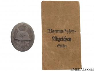 Wound Badge - Silver Grade