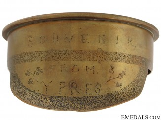 WW1 Trench Art Officer's Cap