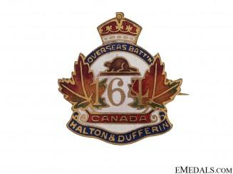 WWI 164th Infantry Battalion Pin CEF