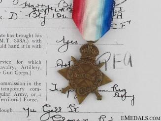 WWI 1914/15 Star - Lieutenant Grayson