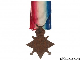 WWI 1914 Star - Royal Linclohnshire Regiment