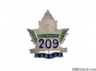 WWI 209th Infantry Battalion Pin CEF