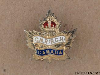 WWI 2nd Canadian Mounted Rifles Sweetheart Pin