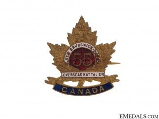 WWI 55th Infantry Battalion Pin CEF