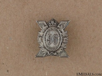 WWI 96th Infantry Battalion Sweetheart Pin CEF