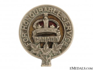 WWI Army Class C Badge
