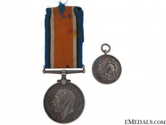 WWI British War Medal - Liverpool