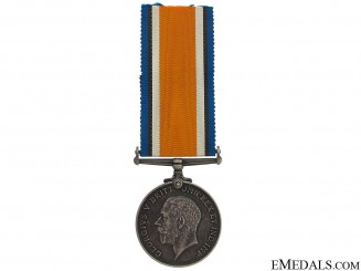 WWI British War Medal - C.M.G.B. & RCMP