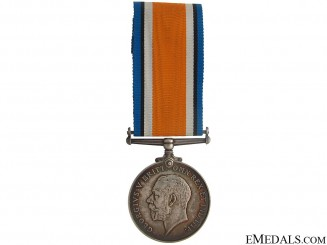 WWI British War Medal - Q.M.A.A.C.
