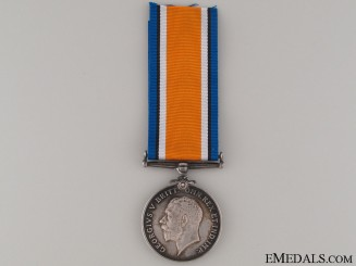 WWI British War Medal - Royal Warwickshire