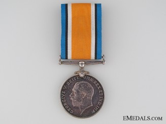 WWI British War Medal to the Suffolk Regiment