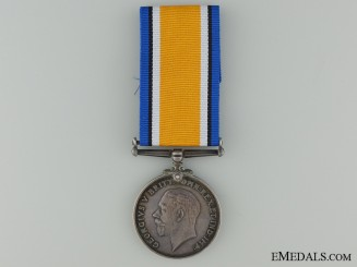 WWI British War Medal to The Queen's Regiment