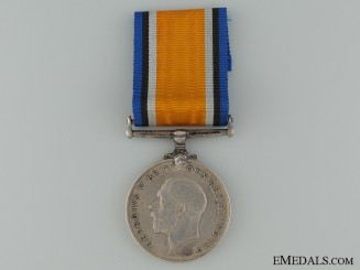 WWI British War Medal to the Royal Naval Canadian Volunteer Reserve