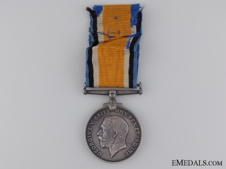 WWI British War Medal to Private S. Bailey