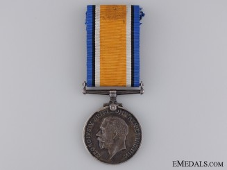WWI British War Medal to the South African Infantry; KIA