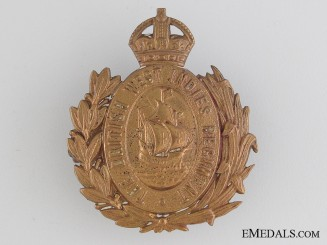 WWI British West Indies Regiment Cap Badge