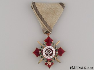 WWI Bulgarian Order for Military Merit