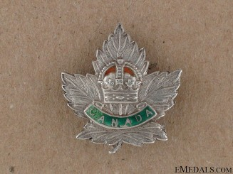 WWI Canada General Service Sweetheart Pin