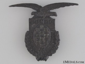 WWI Croatian Devil's Division Badge