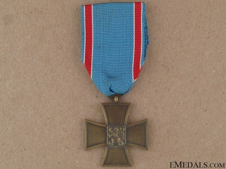 WWI Czech Volunteer Cross 1918-1919