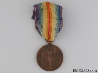 WWI Czechoslovakian Victory Medal