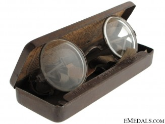"WWI German ""Maskenbrille"" Eyeglasses for Gas Masks"