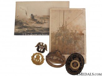 WWI German U-Boat Group