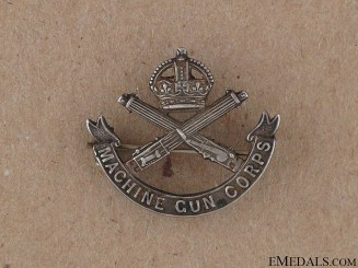 WWI Machine Gun Corps Sweetheart Pin