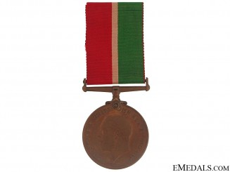 WWI Mercantile Marine War Medal - William Vaughan