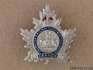 WWI Overseas Railway Construction Corps Pin