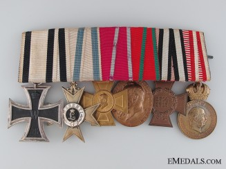 A First War Non-Combatant Bavarian Medal Bar
