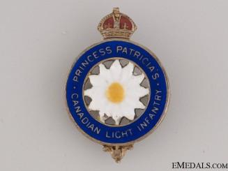 WWI Princess Patricia's Sweetheart Pin CEF