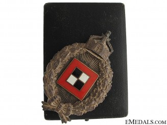 WWI Prussian Observers Badge by Juncker