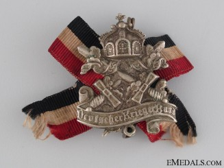 WWI Prussian Veteran's Badge