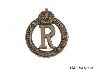 WWI Queen Alexandra's Imperial Military Nursing Service Badge