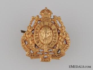 WWI Royal NWMP Collar Tab