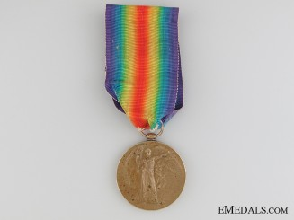 WWI Victory Medal - Lieutenant S.C. Conner RAF
