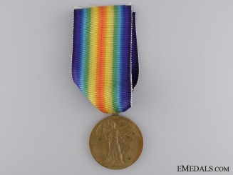 WWI Victory Medal to the 87th Infantry Battalion CEF
