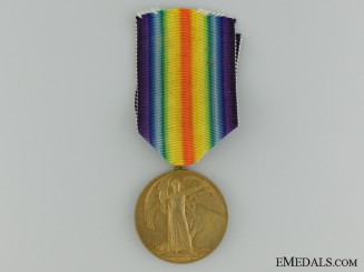 WWI Victory Medal to the 25th Infantry Battalion CEF