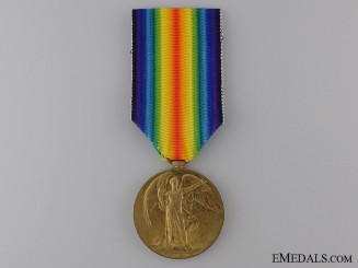 WWI Victory Medal to the Canadian Labour Battalion CEF