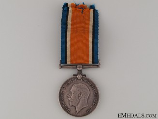WWI War Medal - Royal Irish Fusiliers KIA