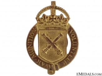 WWI War Munition Volunteer Badge, 1916-1918
