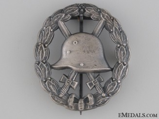 WWI Wound Badge - Cut Out Silver Grade
