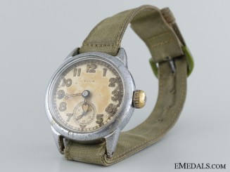 WWII American Elgin Army Ordnance Wrist Watch