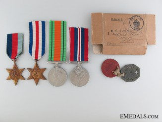 WWII British Awards to Dachau Deportee