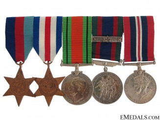 WWII Canadian Group of Five
