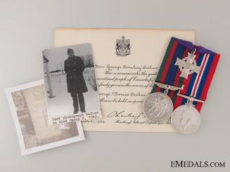 WWII Canadian Memorial Cross Trio