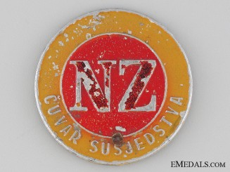 WWII Civil Defense Badge