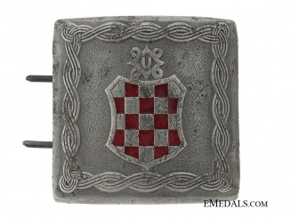 WWII Croatian Diplomat Belt Buckle